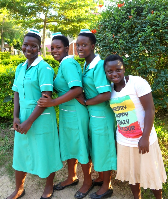 Our up-and-coming nurses at Rakai Community School of Nursing, December 2014